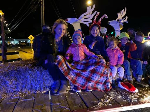 Remlik Wesleyan Church Christmas parade