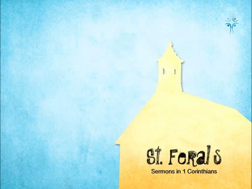 1 Corinthians 10 - Free To Glorify God