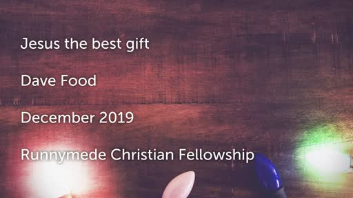 Jesus - The Best Gift