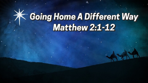 December 22, 2019 - Going Home A Different Way