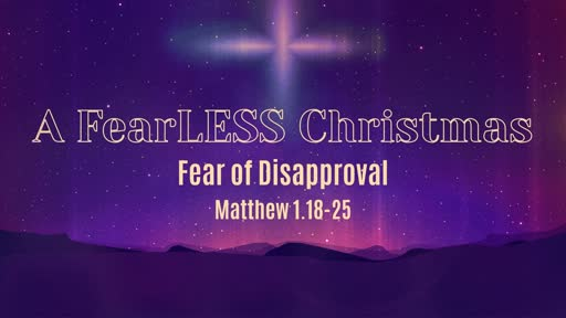 Fear of Disapproval