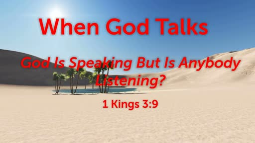 When God Talks