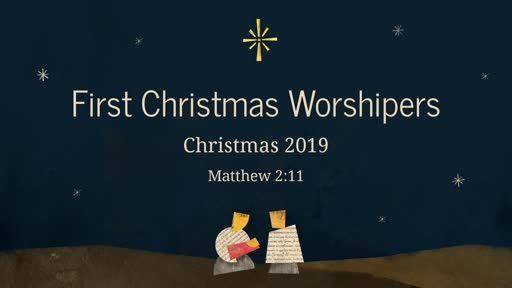 First Christmas Worshipers