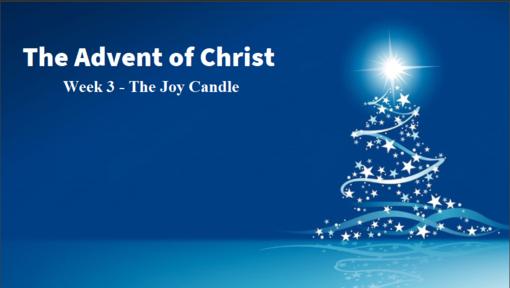 12/15/2019 Good News of Great Joy