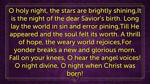 Theology of the Carols