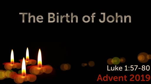 The Birth of John