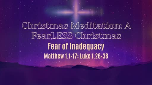 Fear of Inadequacy