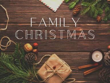 Family Christmas: He Delivered  (Galations 4:3-7)