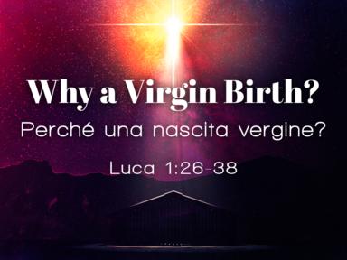 Why a Virgin Birth?