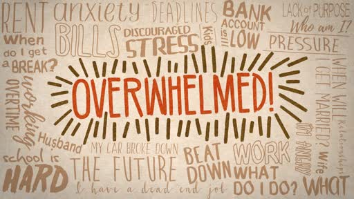 OVERWHELMED by worry