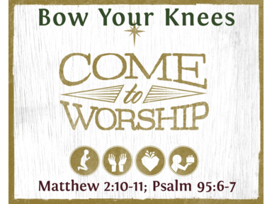 Bow Your Knees