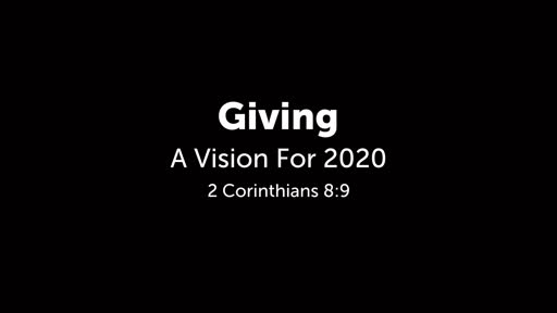 Giving: A Vision For 2020