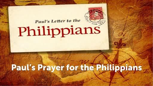 Paul's Prayer for the Philippians