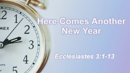 Here Comes A New Year!