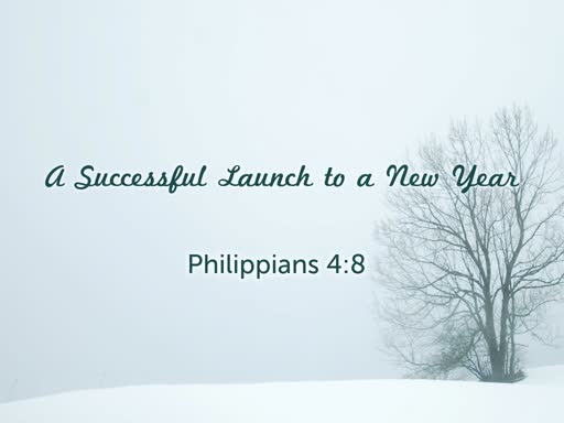 A Successful Launch to a New Year