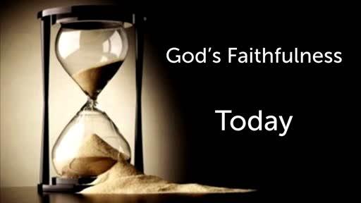 12-29-19 PM - God's Faithfulness