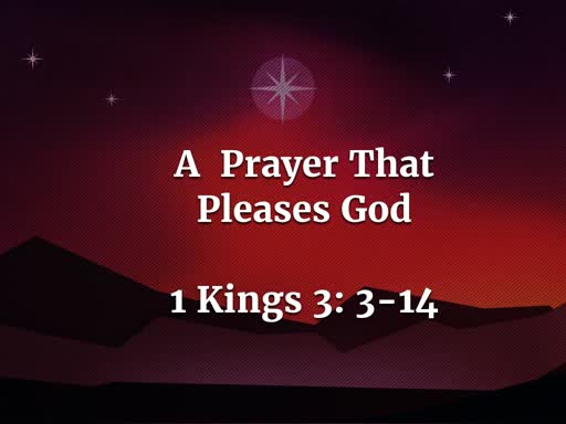 A Prayer That Pleases God