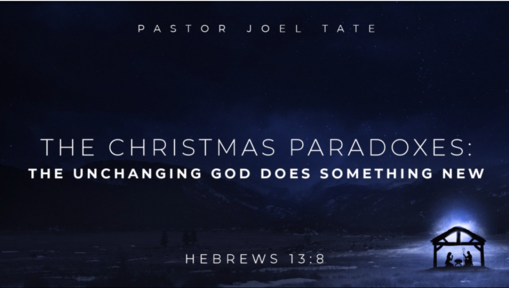 The Christmas Paradoxes (Advent 2019)