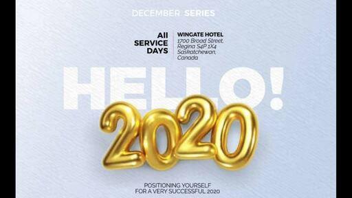 Hello 2020.