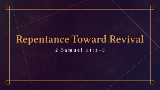 1-1-20 Repentance Toward Revival