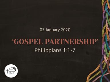 'Gospel Partnership' (Philippians 1:1-7)