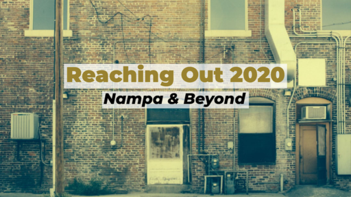 Reaching Out 2020 - Elder's Resolutions