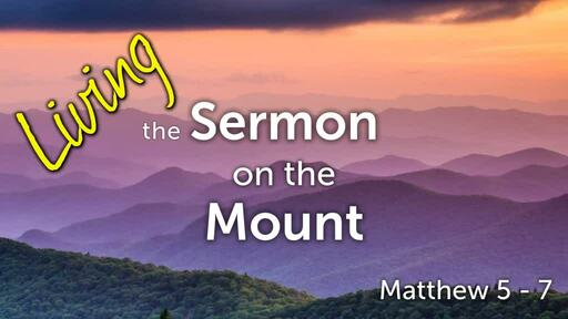 Living the Sermon on the Mount: Give, Fast, and Pray