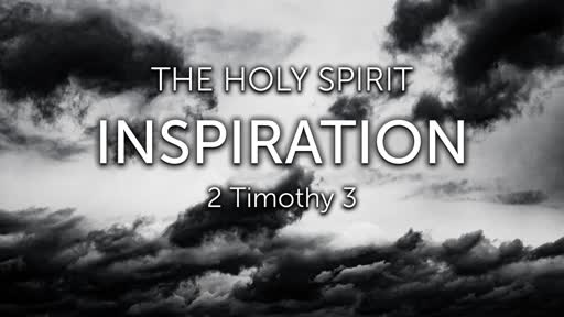January 5, 2020 Message Recording for The Holy Spirit: Inspiration
