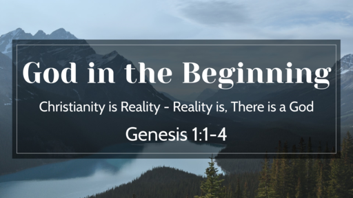 God in the Beginning