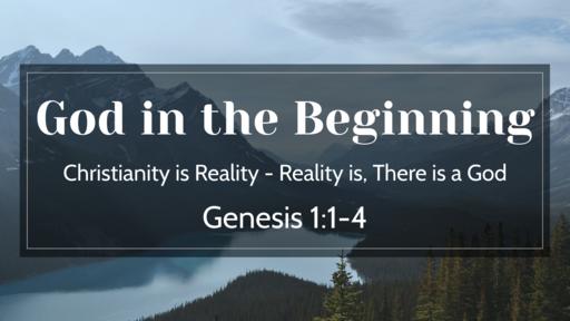 God in the Beginning
