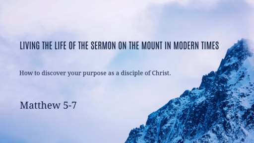 Living the Sermon on the Mount in Modern Times