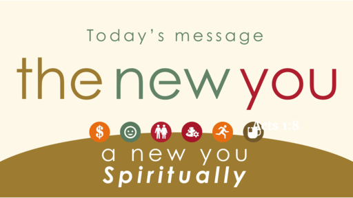 The New You Spiritually -Sun. Jan. 5 2020