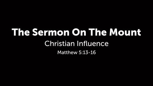 The Sermon On The Mount - Salt and Light
