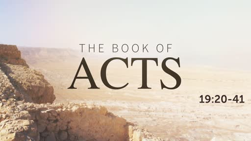 Acts 19:20-41