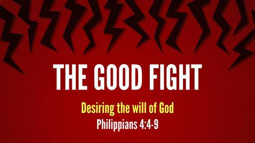 Desiring the will of God