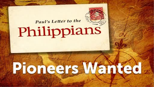 Pioneers Wanted