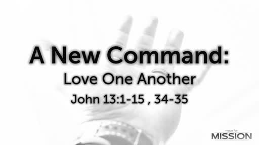 Jesus: Love One Another
