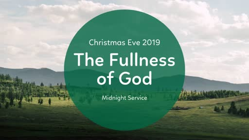 Christmas Eve Midnight Sermon