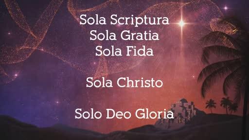 12/22/19 Sola Christo