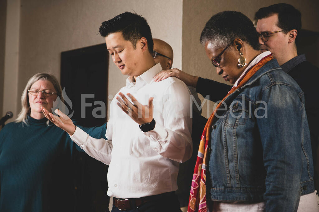 New Pastor Being Ordained large preview