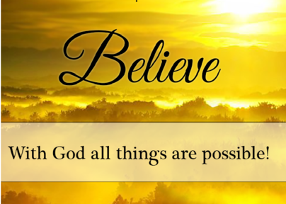 1/5/2020 - All Things Are Possible
