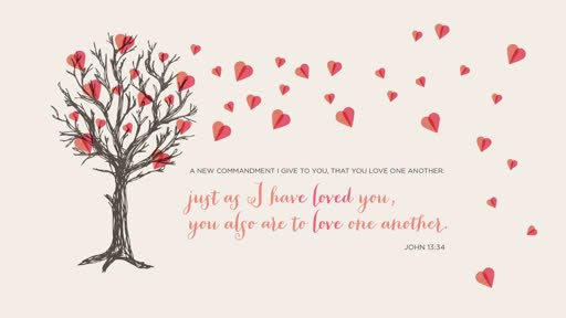 Love as I have loved you