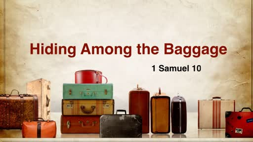 1-12-2020 AM - Hiding Among the Baggage