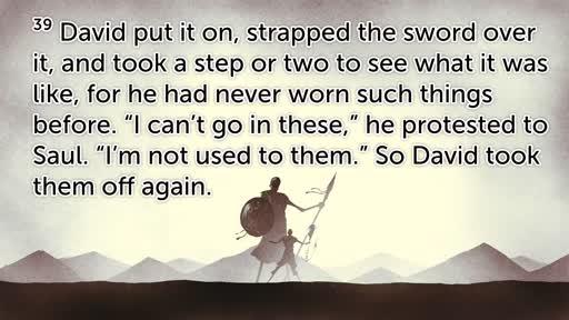 David & Goliath: 1 Samuel 17: 1-54