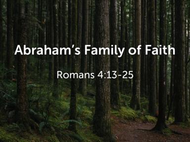 Abraham's Family of Faith