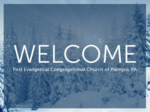 Sunday Worship Jan. 12, 2020