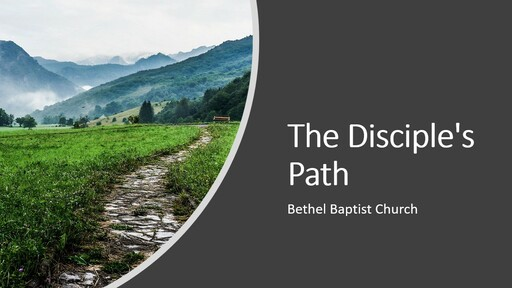 1 Timothy 4:7-9 - The Disciple's Path: Disciplined