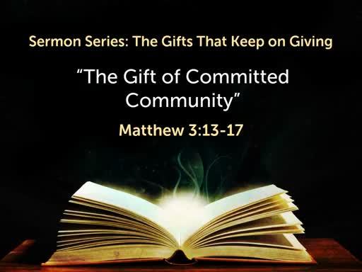 01/12/2020 Gift of Community