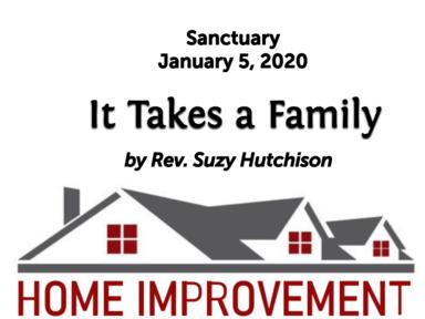 January 12, 2020 - Sanctuary