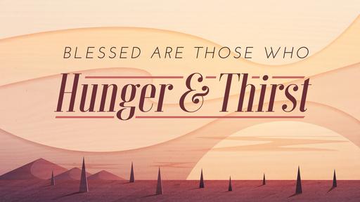 Exodus 15:22-16:36 - Life in the Desert